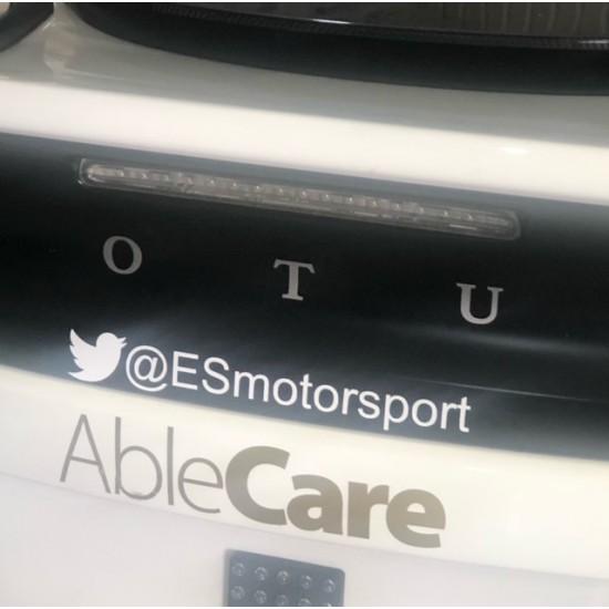 ES Motorsport Official Car Stickers Elise Trophy