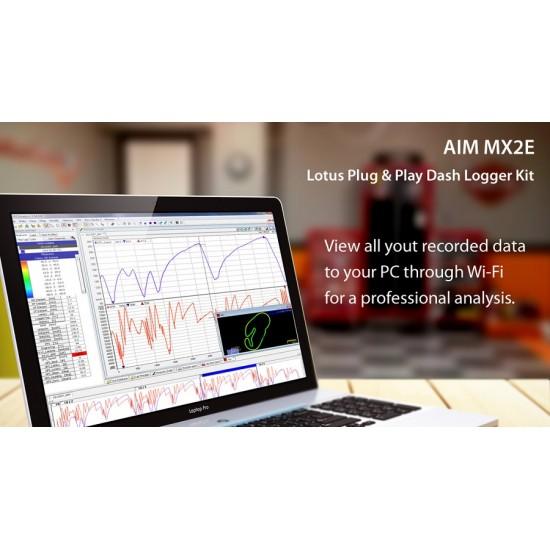 Aim MX2E Plug & Play Dash Logger Kit For Lotus Elise / Exige