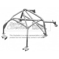 Roll Cage Safety Devices 6 Point to Suit S2 Elise Exige (Toyota Engine) FIA Approved