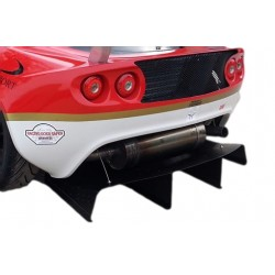 Extended 4 Fin GT3 Rear Diffuser - Lotus Exige S2
