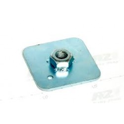 Seat Harness Eye Bolt Back Plate 55mm x 55mm x 2mm 7/16""